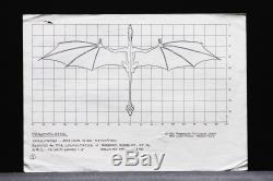 Dragonslayer ILM Stop Motion Vermithrax Dragon Design(Lot 5) by David Bunnett