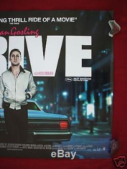 Drive 2011 Original British Quad Movie Poster Ryan Gosling Carey Mulligan D/s