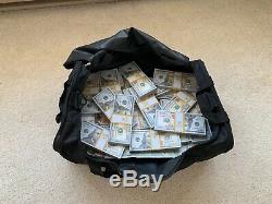 Duffel Bag Full of Prop Money