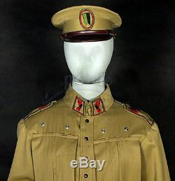 Dune House Atreides Desert Officer Uniform & Cap Original Movie Costume Prop