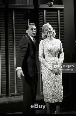 EDIE ADAMS Worn on The Frank Sinatra Show Vintage 50's Custom Tape Lace Dress