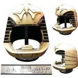 EFX Battlestar Galactica Viper Pilot Helmet Prop Replica Dual Signature Sealed