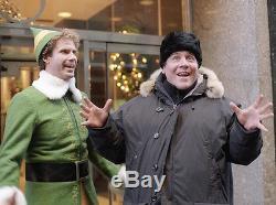 ELF hero Bob Newhart screen used movie costume. Will Ferrell