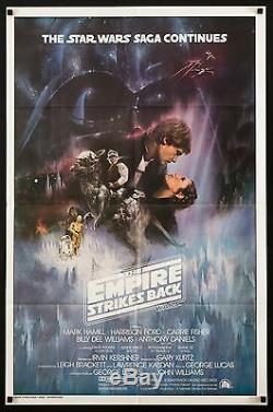EMPIRE STRIKES BACK 1980 Style A 1sh Exc condition ESB Star Wars FilmArt Gallery