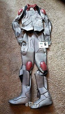 Enders Game Prop Screen Used Leopard Flash Suit With COA