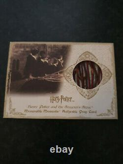 Extremely Rare! Harry Potter Original Screen Used Piece of the Broom LE 235 Prop
