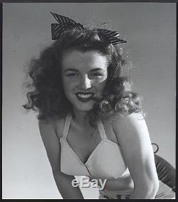 FABULOUS 1946 Original Photo MARILYN MONROE Young NORMA JEAN by ANDRE de DIENES
