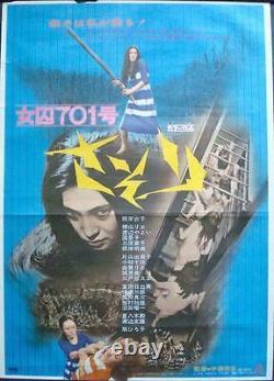 FEMALE PRISONER 701 SCORPION Japanese B2 movie poster MEIKO KAJI PINKY VIOLENCE