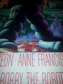 Forbidden Planet Original Movie Poster