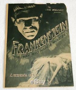 Frankenstein Original Movie Herald