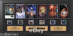 Film Cell Genuine 35mm Framed Matted Star Wars Through the Ages USTR09