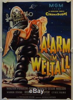 Forbidden Planet original release german movie poster