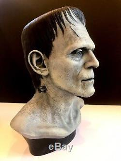 Frankenstein Bust By Miles Teves Artist Proof #2 Super Rare Original Authentic