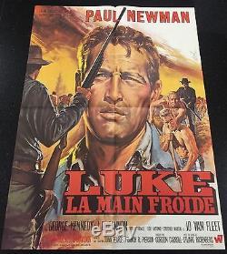 French Movie Poster Cool Hand Luke Original Movie Memorabilia 1967