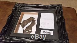 Friday The 13th New Blood. Screen Used Costume Swatch Display