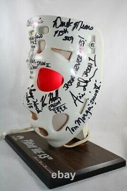 Friday the 13th VHS Promo Mask LIGHT signed by EVERY JASON ACTOR! JSA LOA
