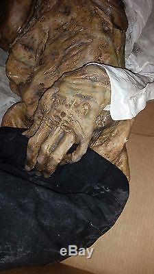 GRIMM screen used corpse zombie horror movie prop Savini FX Halloween haunt