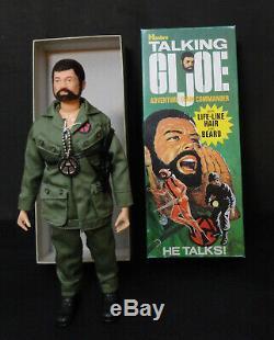 Gi Joe Adventurer Team 1970 Compelte Air Sea Land Talking Commander Action Man