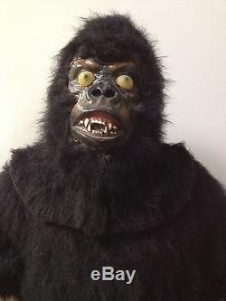 Gorilla Mechanical Animatronic Robot Rare Vintage Advertising