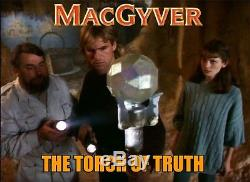 HOLY GRAIL MacGyver TORCH OF TRUTH Screen Used Prop LOST TREASURE OF ATLANTIS