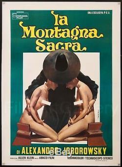 HOLY MOUNTAIN 1973 39x55 Italian L/B poster Alejandro Jodorowsky FilmArtGallery