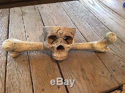 House Of 1000 Corpses Dr. Satan's Lair Skull Original Prop