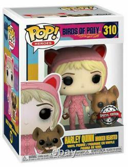 Harley Quinn Broken Hearted Birds Of Prey POP! Heroes #310 Vinyl Figur Funko