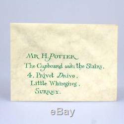 Harry Potter (2001) Hogwarts Invitation Envelope (Screen Used) Stunt Movie Prop