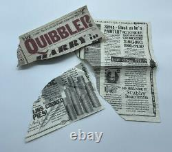 Harry Potter And The Deathly Hallows Blown Up Quibbler Screen Used Prop With COA