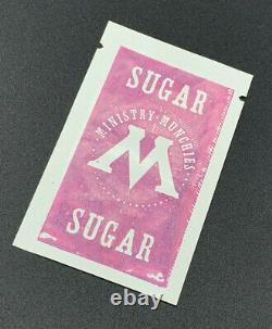 Harry Potter Prop Ministry Of Magic Sugar Packet With COA