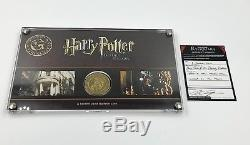 Harry Potter Prop Screen Used Galleon Coin With Frame And COA