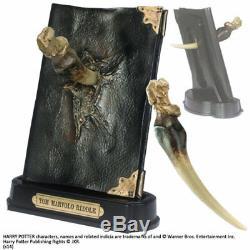 Harry Potter Replik 1/1 Tom Riddles Tagebuch mit Basilisk Reißzahn