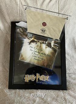 Harry Potter Screen Used Hogwarts Acceptance Letter Envelope Daniel Radcliffe