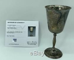 Harry Potter Screen Used Prop Great Hall Silver Goblet With COA