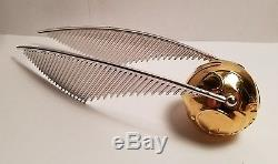 Harry potter prop golden snitch promo crew gift gold plated brass