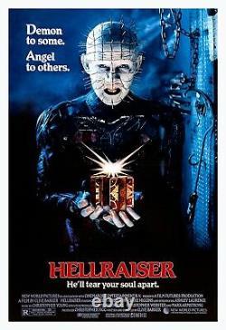 Hellraiser (1987) Original Movie Poster Rolled