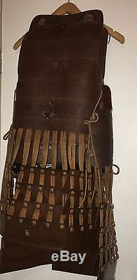 Hollywood The Last Samurai PRODUCTION ORIGINAL Warrior Armor Costume RARE Prop