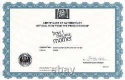 How I Met your Mother HIMYM Cobie Smulders screen worn wardrobe withSTUDIO COA