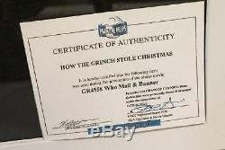 How The Grinch Stole Christmas Movie Prop Whobilation Memorabilia Jim Carrey Coa
