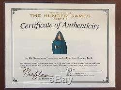 Hunger Games Mockingjay 2 Jennifer Lawrence Katniss Disguise Cloak Costume COA