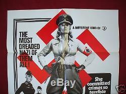 Ilsa She Wolf Of The Ss 1975 Original Movie Poster 1sh Dyanne Thorne Nazi Nm-m