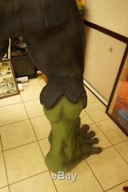 Incredible Hulk Life Size Statue Movie Store Display Prop Huge Rare