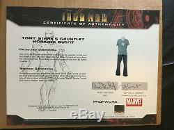 Iron Man MCU Movie Gauntlet Outfit Worn by RDJ and Screen Used