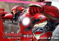 Iron Man Mark XLV Avengers Age of Ultron Marvel 12 Figur MMS300 D011 Hot Toys