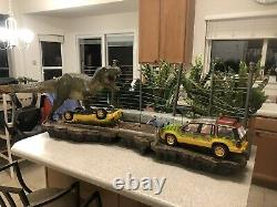 Iron Studios Jurassic Park Breakout Delivery Possible
