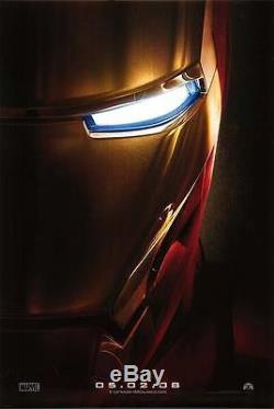 Iron man Advance Double Sided Orignal Movie Poster 27x40
