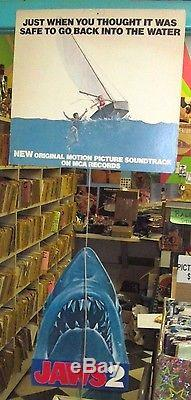 JAWS 2 ORIGINAL 1978 US MOVIE SOUNDTRACK ALBUM PROMOTIONAL MOBILE DISPLAY RARE
