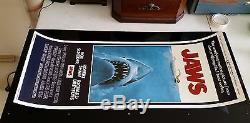 JAWS ORIGINAL 1975 INSERT MOVIE POSTER VERY FINE