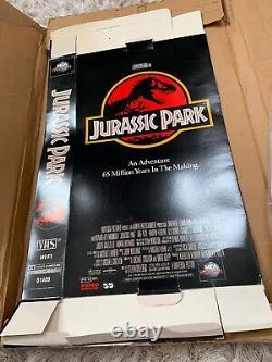 JURASSIC PARK VHS Press Kit Jeff Goldblum & Julianne Moore 1997