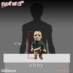 Jason Vorhees 38 cm Sound FX Figur mit Stoffkleidung Mezco Toys Freitag der 13